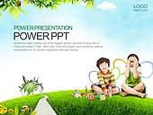 PPT,파워포인트,메인페이지,어린이,교육,학습,영어,알파벳