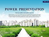 PPT,파워포인트,메인페이지,아파트,건물,부동산,도심,자연,친환경