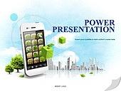 PPT,파워포인트,메인페이지,스마트폰,모바일,에코,자연,크린에너지