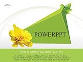 PPT,파워포인트,메인페이지,꽃,나뭇잎,그린,자연,에코
