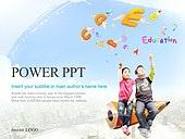 PPT,파워포인트,메인페이지,어린이,영어,교육,학습,공부