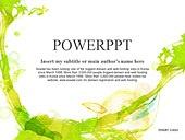PPT,파워포인트,메인페이지,수채화,미술,녹색,자연