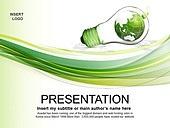PPT,파워포인트,메인페이지,곡선,라인,그린,에코,자연,환경,전구,지구,아이디어