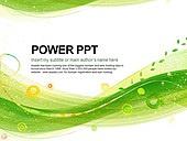 PPT,파워포인트,메인페이지,그린,자연,라인,곡선,배경