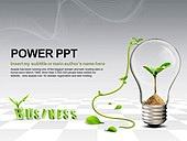 PPT,파워포인트,메인페이지,자연,에코,비즈니스,새싹,연결,전구,발상,생각,아이디어
