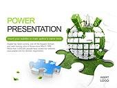 PPT,파워포인트,메인페이지,키보드,퍼즐,조각,친환경,도시,에코,그린,자연,에너지