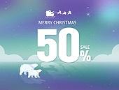 크리스마스 쇼핑 템플릿 08