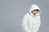 차가움 (컨셉), 따뜻한옷 (옷), 롱패딩 (패딩), 겨울, 한파, 한파 (자연현상), 패딩
