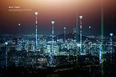 와이파이, 공공와이파이, 도시, 미래, 서비스, 사회복지 (사회이슈), 포스트코로나, 공공장소, 야경