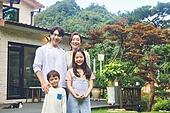 자식두명과가족 (자식), 전원생활 (컨셉), 정원