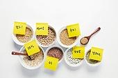곡식 (식물), 날것, 농작물, 유기농, 잡곡, 병아리콩, 귀리 (시리얼), 오트밀 (귀리), 수수 (식물), 기장 (곡식), 강낭콩, 햄프씨드 (씨)