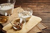 오트밀 (귀리), 곡식 (식물), 음식 (Food And Drink), 식사, 견과류