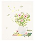 식물, 꽃, 선물 (인조물건), 수채화 (회화기법), 꽃다발, 연례행사 (사건)
