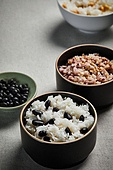 밥, 건강식, 잡곡, 검정콩