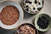 밥, 건강식, 잡곡, 기장 (곡식)