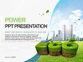 PPT,파워포인트,메인페이지,에코,그린,친환경,자연에너지,도시,건축물,건물,산업,나무,자연