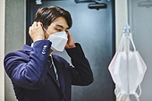마스크 (방호용품), 코로나바이러스 (바이러스), 코로나19 (코로나바이러스), 사회적거리두기 (사회이슈), 출퇴근 (여행하기), 감기예방마스크