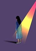 외로움, 정신건강 (주제), 우울, 스트레스, 뒷모습