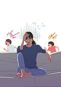 코로나19 (코로나바이러스), 코로나우울 (신조어), 엄마, 육아, 가사 (허드렛일), 스트레스, 어린이 (나이), 소음