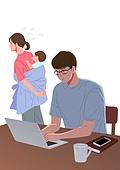 코로나19 (코로나바이러스), 코로나우울 (신조어), 엄마, 육아, 가사 (허드렛일), 스트레스, 노트북컴퓨터 (개인용컴퓨터), 부부