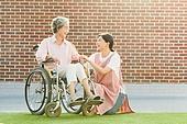 노인여자 (성인여자), 노인문제, 요양원 (양로원), 간호조무사 (간호사), 간병인 (의료계종사자), 의료봉사 (사회복지), 미소