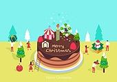 케이크, 크리스마스 (국경일), 연례행사 (사건), 베이커거리, 크리스마스케이크