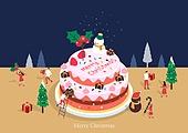 케이크, 크리스마스 (국경일), 연례행사 (사건), 베이커거리, 크리스마스케이크, 눈사람
