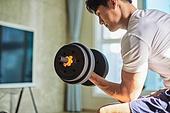 건강한생활, 건강관리 (주제), 운동, 홈트레이닝 (운동), 홈트레이닝, 팔운동, 아령, 아령 (웨이트)