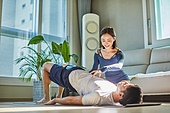 건강한생활, 건강관리 (주제), 운동, 홈트레이닝 (운동), 홈트레이닝, 필라테스 (이완운동)