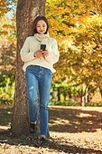 가을, 단풍나무 (낙엽수), 가을 (계절), 11월, 서울 (대한민국), 단풍길, 단풍철 (가을), 단풍잎 (잎), 스마트폰, 휴대폰