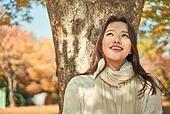 가을, 한국인, 여성
