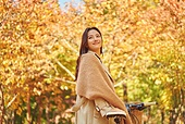 가을 (계절), 감성, 단풍철 (가을), 소풍 (아웃도어), 행복, 단풍잎 (잎), 낙엽, 자전거, 휴가 (주제)