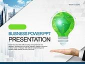 PPT,파워포인트,메인페이지,손,비즈니스,산업,전구,그린,에코,아이디어,도시,건축물