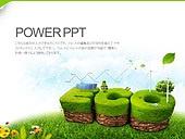 PPT,파워포인트,메인페이지,에코,그린,친환경,자연에너지,자연,환경,보호,풍력발전기,태양열판,나뭇잎