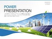 PPT,파워포인트,메인페이지,건축물,도시,풍력발전기,태양열판,자연에너지,친환경,에코,그린,빛효과
