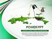 PPT,파워포인트,메인페이지,세계지도,자연,그린,에코,자연에너지,친환경,새싹,풍력발전기,전구,아이디어,나비,산업