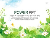PPT,파워포인트,메인페이지,꽃,봄,나비,미술