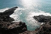 주상절리,중문,바위,갯바위,바위,화산암,바다,해변,해안,풍경,전경,실외,서귀포시,제주도,한국,국내여행,장노출,파도,파문,