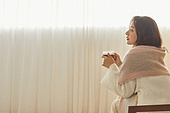 여성, 차 (뜨거운음료), 커피브레이크 (휴식)