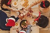 포트락파티 (파티), 포트락파티, 파티, 크리스마스 (국경일), 디너파티 (친목회), 친목회 (사건), 맥주, 건배, 술 (음료)