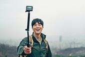 하이킹 (아웃도어), 산악등반 (클라이밍), 하이킹, 걷기 (물리적활동), 아웃도어, 산, 산악등반, 액션카메라 (카메라), 인플루언서, 1인미디어 (사회이슈), SNS (기술), 비디오촬영 (촬영)