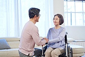 노인 (성인), 노인문제, 실버산업, 노인건강 (실버라이프), 휠체어, 실버라이프 (주제)
