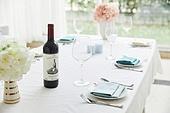 식탁, 상차림 (움직이는활동), 와인, 정리 (움직이는활동)