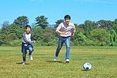 한국인, 행복, 축구