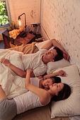 가족, 침실, 함께함 (컨셉), 잠 (휴식)