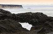 주상절리,바위,화산암,자연,해변,비크,아이슬란드,유럽,해외,여행풍경,실외