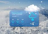 겨울, 날씨, 온도 (묘사), 백그라운드 (주제)