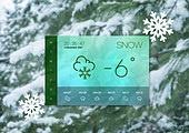 겨울, 날씨, 온도 (묘사), 백그라운드 (주제), 눈 (얼어있는물)