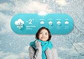 겨울, 날씨, 온도 (묘사), 백그라운드 (주제), 눈 (얼어있는물), 쌓인눈 (눈)
