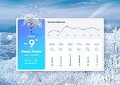 겨울, 날씨, 온도 (묘사), 백그라운드 (주제), 눈 (얼어있는물), 나무